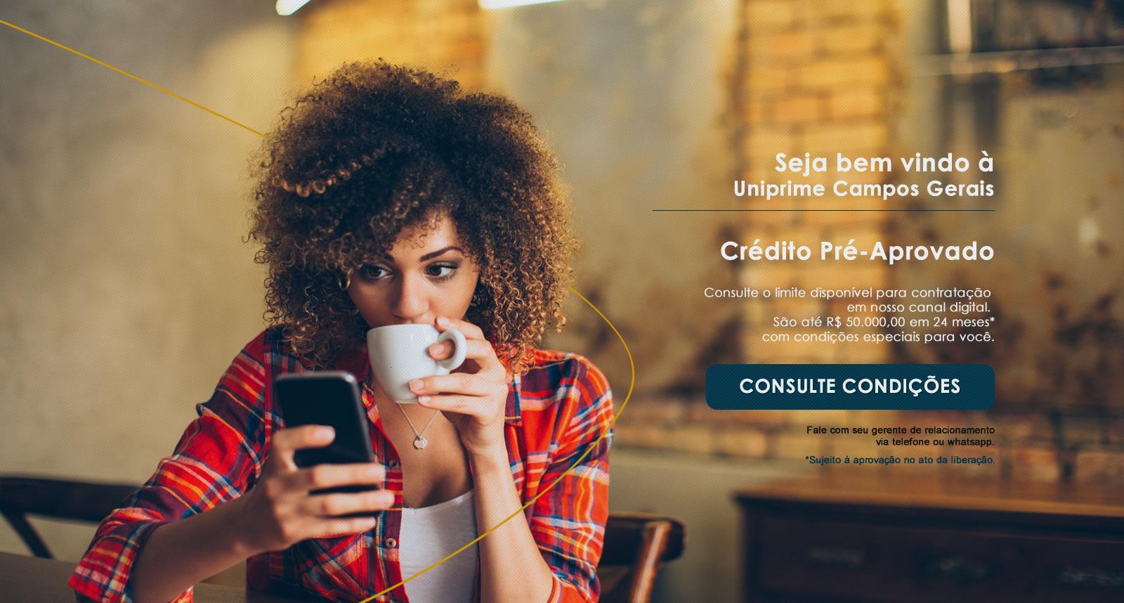 Crédito Pré-Aprovado Uniprime